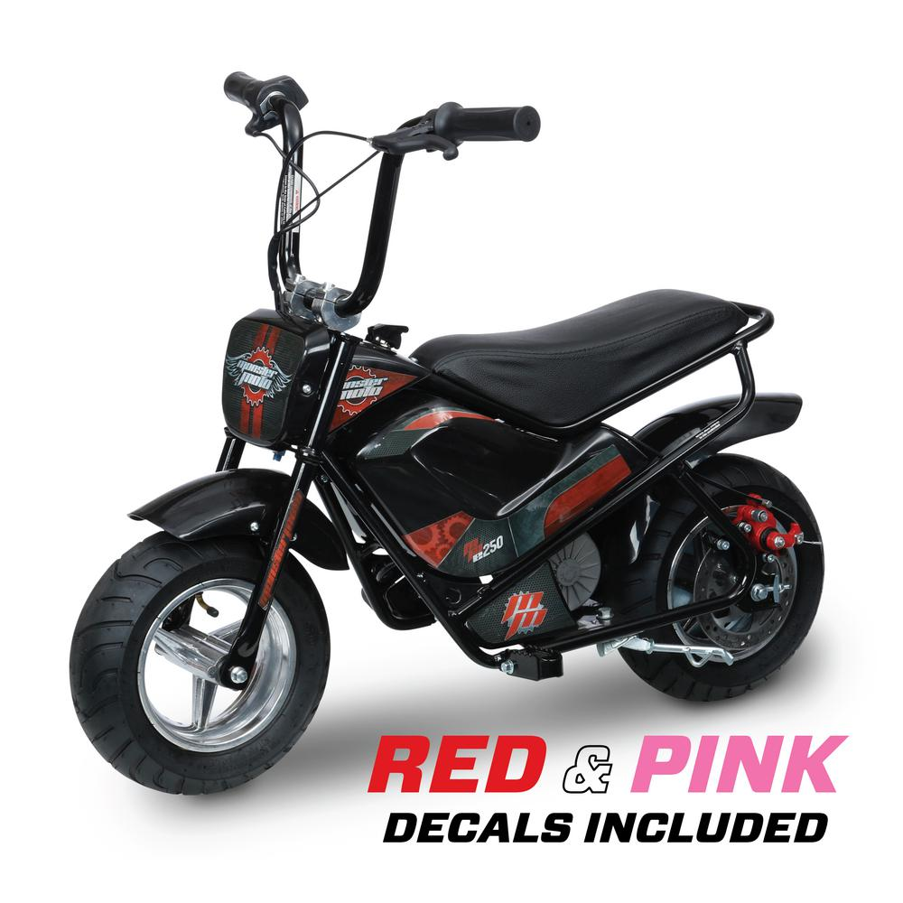 monster moto electric 24 volt youth mini bike mm e250. Black Bedroom Furniture Sets. Home Design Ideas