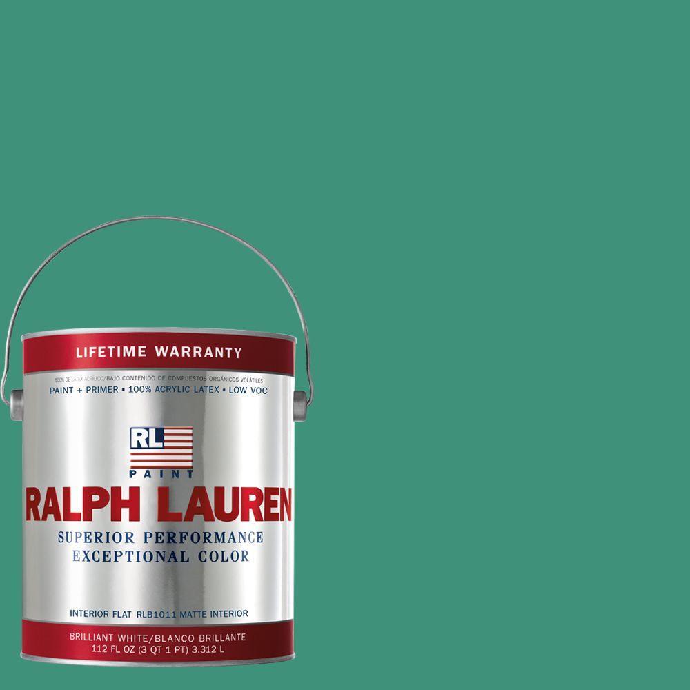 Ralph Lauren 1-gal. Paisley Green Flat Interior Paint
