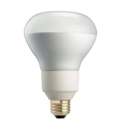 85W Equivalent Soft White R40 Dimmable CFL Flood Light Bulb (4-Pack)