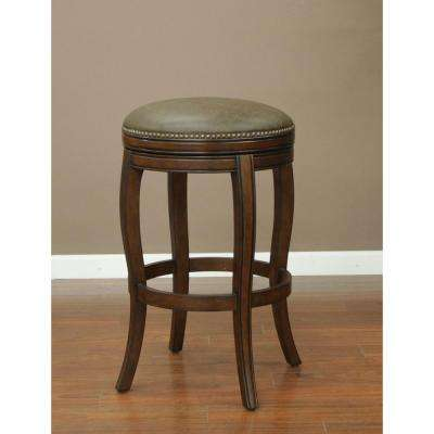 Wilmington 26 in. Navajo Cushioned Bar Stool