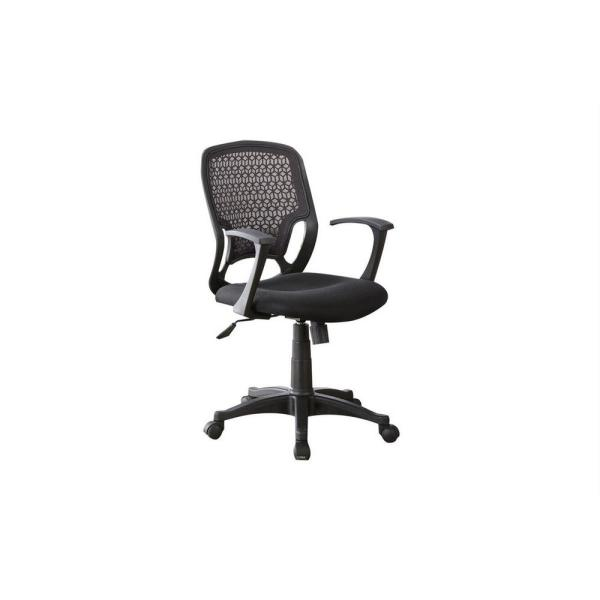 Coaster Home Furnishings Black Adjustable Height Office Chair 800056 The Home Depot