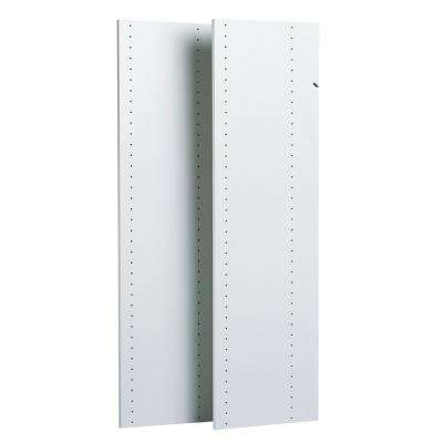 White Wood Vertical Panels (2-Pack)