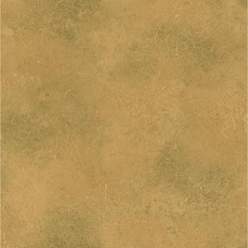 Gold Antique Plaster Wallpaper 499 10052 The Home Depot