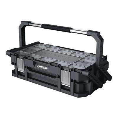 22-Compartment 22 in. Connect Cantilever Organizer for Small Parts Organizer