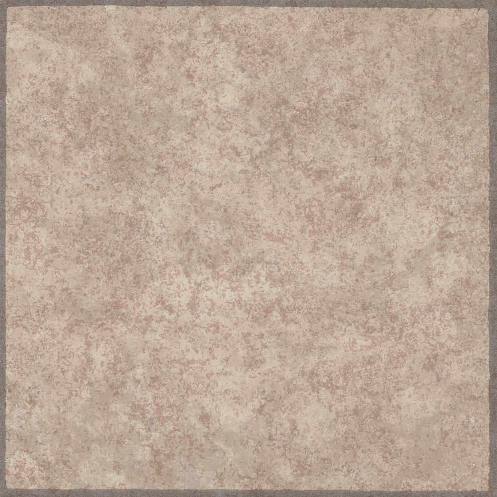 armstrong rockton cream beige 12 in x 12 in residential peel and stick vinyl tile flooring 45. Black Bedroom Furniture Sets. Home Design Ideas