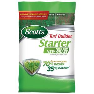 Turf Builder Starter Brand Fertilizer 21605 The Home Depot