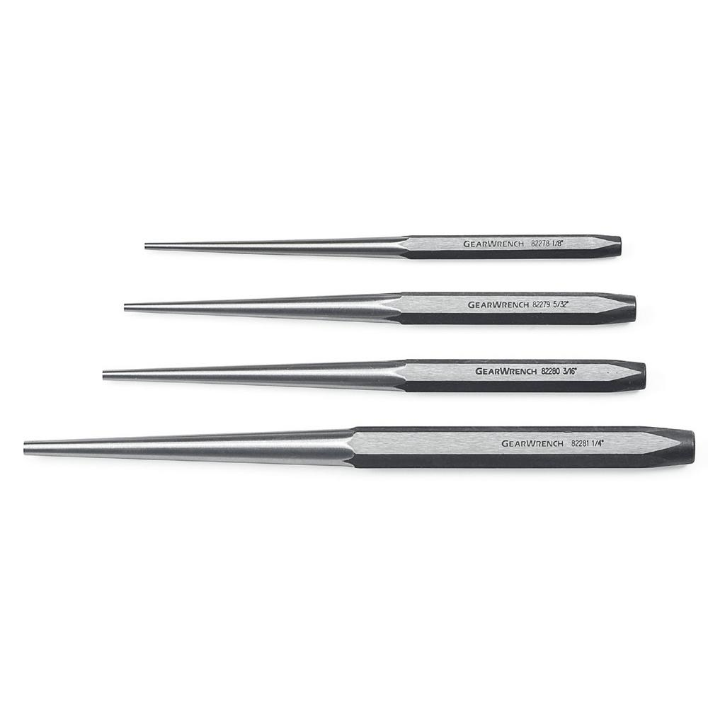 Long Taper Punch Set (4-Piece)