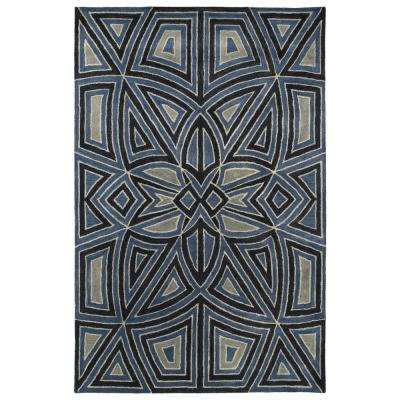 Art Tiles Periwinkle 10 ft. x 13 ft. Area Rug