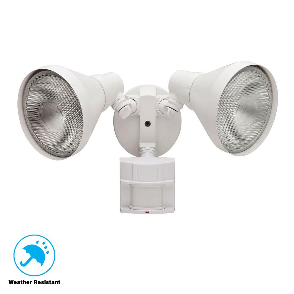 Defiant 180 Degree White Motion Sensing Outdoor Security Light Df The Color Which Needs To Be Sensed By Sensor Is Selected