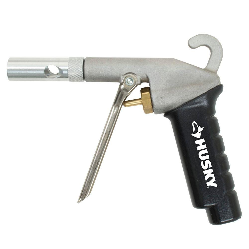 Husky High Performance Blow Gun with Ultimate Flow Tip