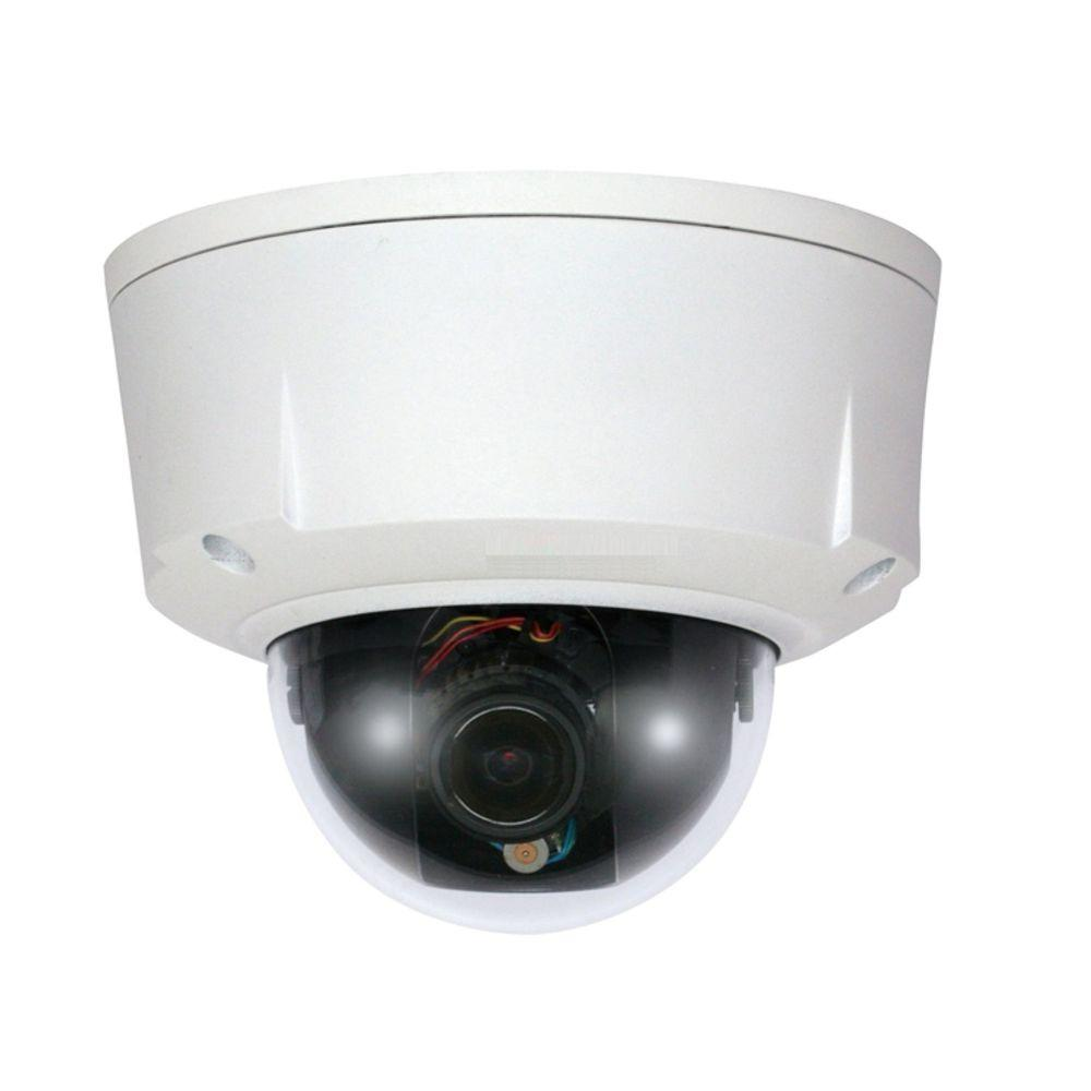 SeqCam Wired 1.3 Megapixel Waterproof and Vandal-Proof Network Dome Indoor or Outdoor Standard Surveillance Camera
