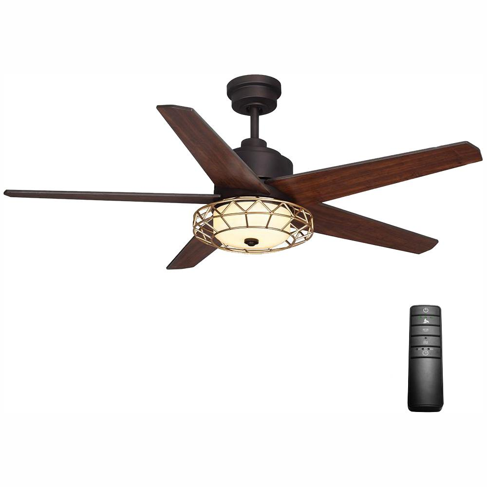 Home Decorators Collection Pemberton 52 In. LED Indoor Oil