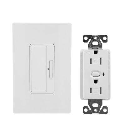 Z-Wave Anyplace Kit (RF9575DW Decorator Switch and RFTR9505-TDW Decorator Receptacle), White