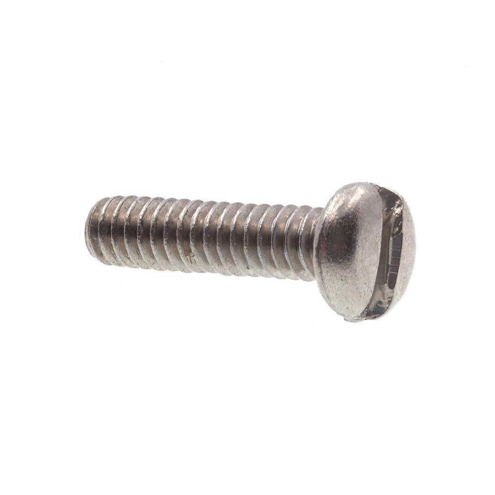Slotted Drive Pan Head Machine Screws