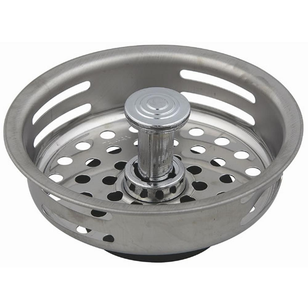 Fit All Strainer Basket in Stainless Steel