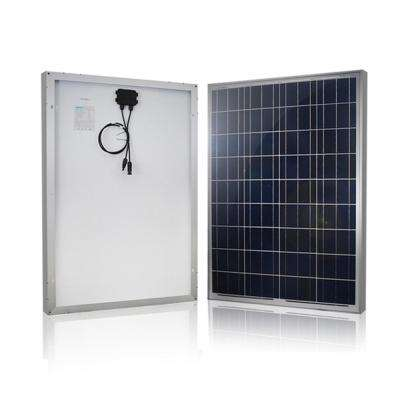 100-Watt 12-Volt Polycrystalline Solar Panel for RV Boat Back-Up System Off-Grid Application