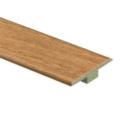 Haley Oak 7/16 in. Thick x 1-3/4 in. Wide x 72 in. Length Laminate T-Molding