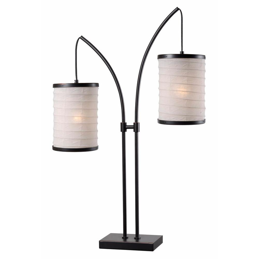 Lanterna 30 in. Bronze Indoor Table Lamp
