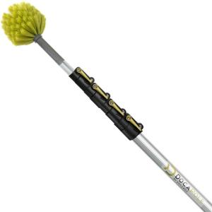 6 ft. to 24 ft. Extension Pole Plus Synthetic Cobweb Duster High Reach Telescopic Dusting Kit