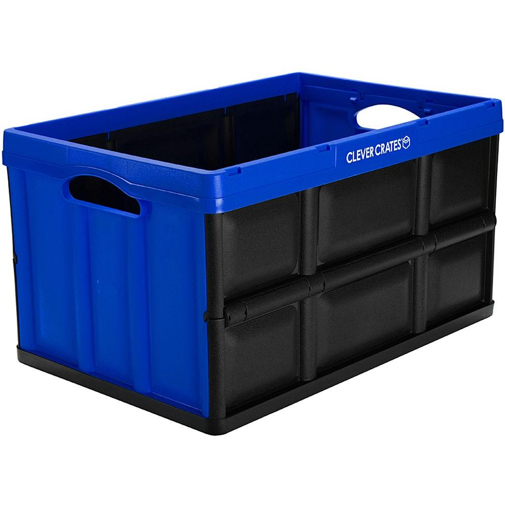 Superbe Collapsible Storage Box In Royal Blue