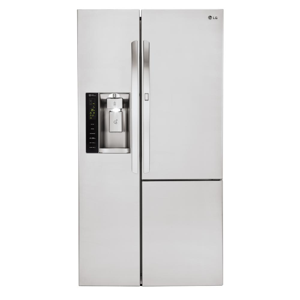 21.7 cu. ft. Side by Side Smart Refrigerator with Door-in-Door and