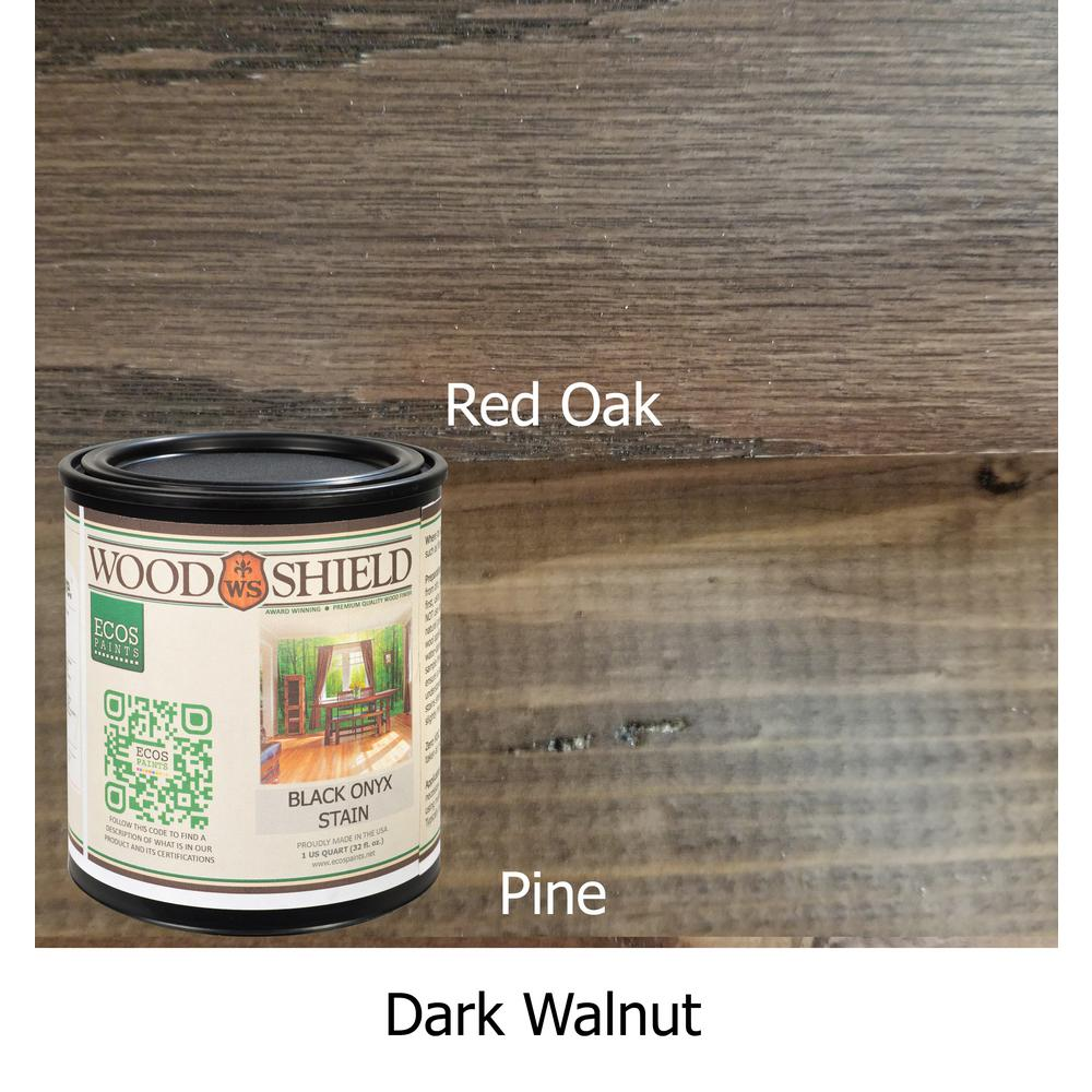 1-qt. Dark Walnut WoodShield Interior Stain