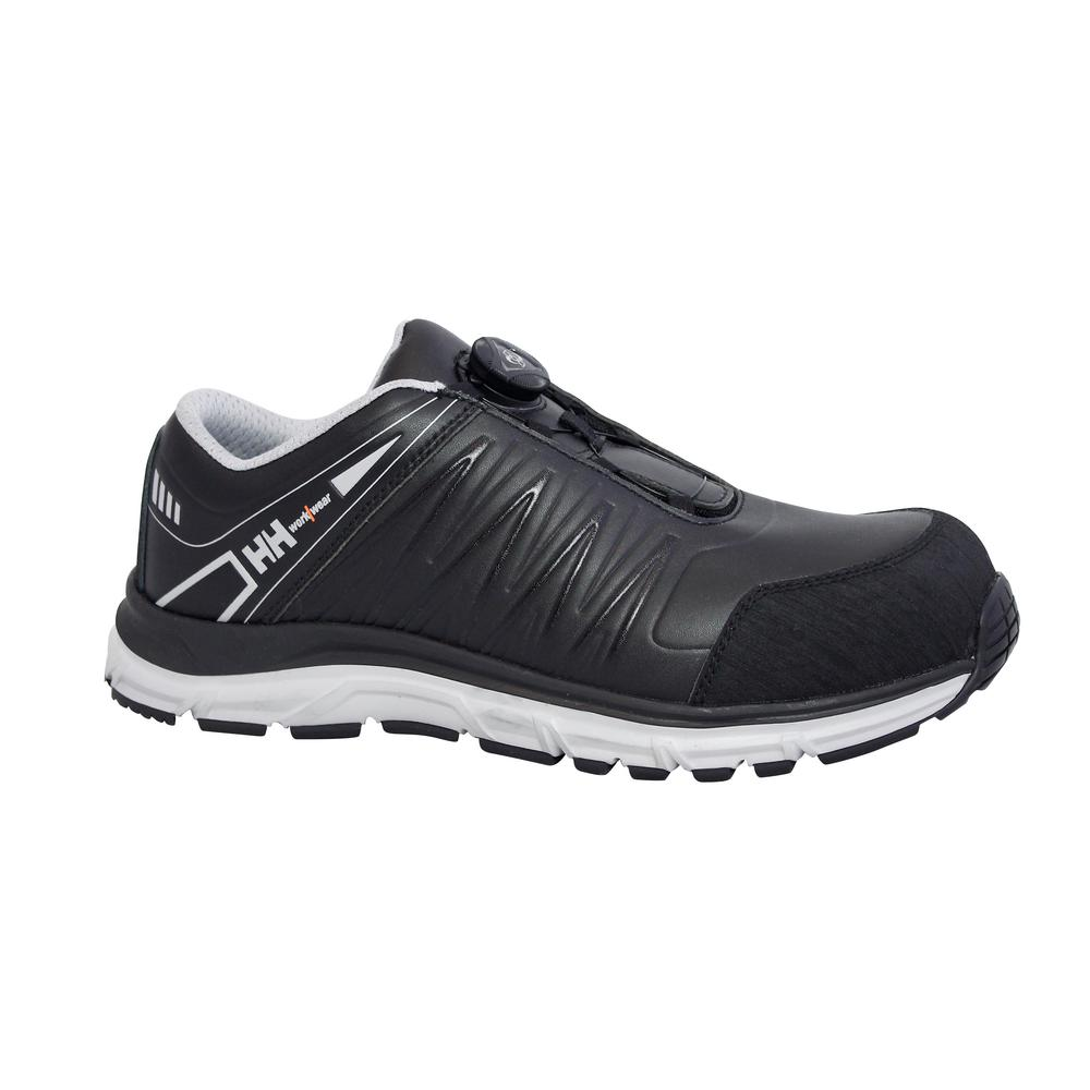 Helly Hansen Thor Boa Men's Size 12 Black Microfiber Composite Toe Work Shoe
