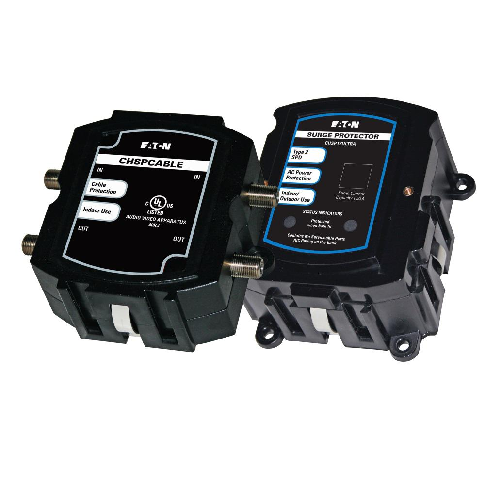Great Eaton Whole House Surge Protection Contains CHSPULTRA And CHSPCABLE Devices