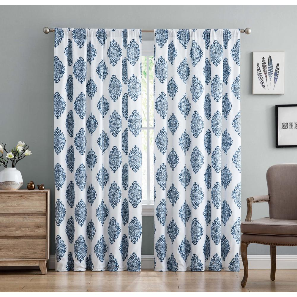 plaid geometric truly soft n drape everyday set window treatments compressed the navy buffalo b blue curtains drapes