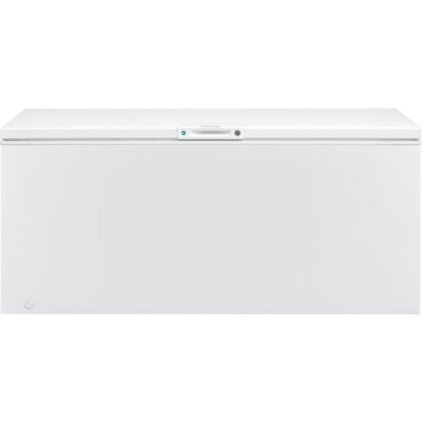 Frigidaire 24 8 Cu Ft Chest Freezer In White Fffc25m4tw The Home Depot