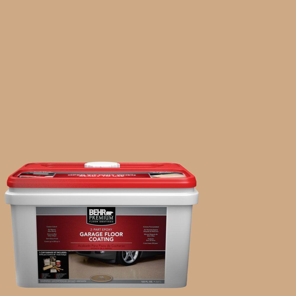 BEHR Premium 1-gal. #PFC-22 Cold Lager 2-Part Epoxy Garage Floor Coating Kit