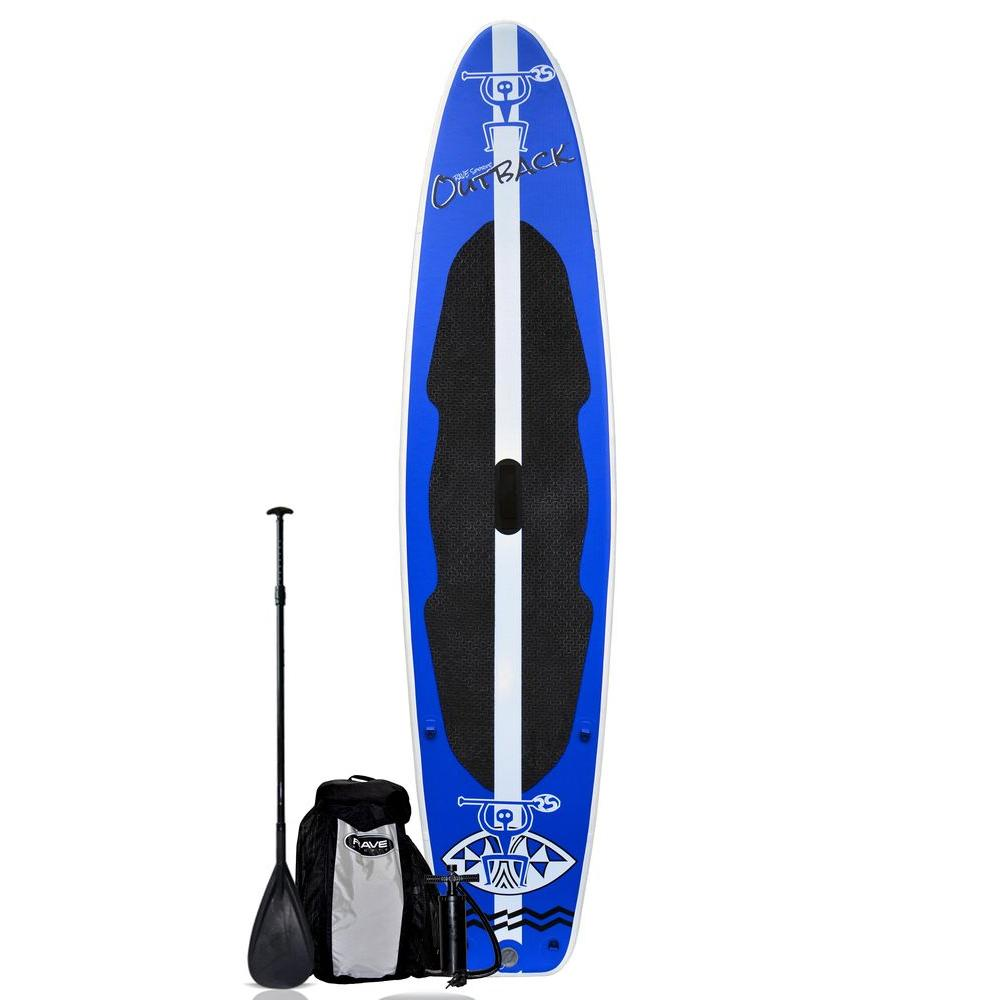 Outback Inflatable Stand Up Paddle Board Package