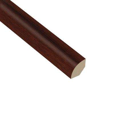 Strand Woven Bamboo Cognac 5/8 in. Thick x 1 in. Wide x 94-1/2 in. Length Vinyl Quarter Round Molding