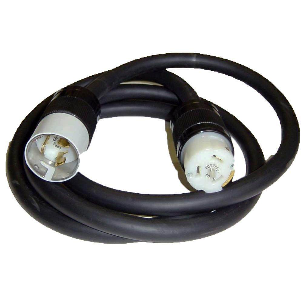 GenTran 50 ft. 50 Amp Generator Cord with Locking Ends-DISCONTINUED