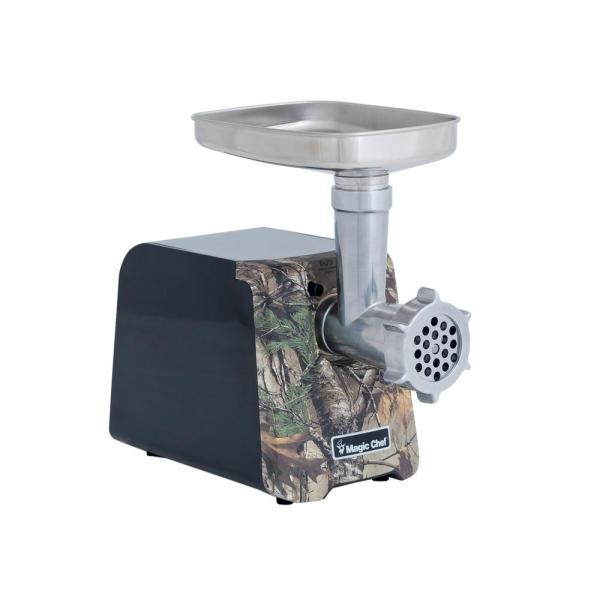 Magic Chef 600 W Realtree Xtra Camoflauge Electric Meat Grinder MCLMGRT