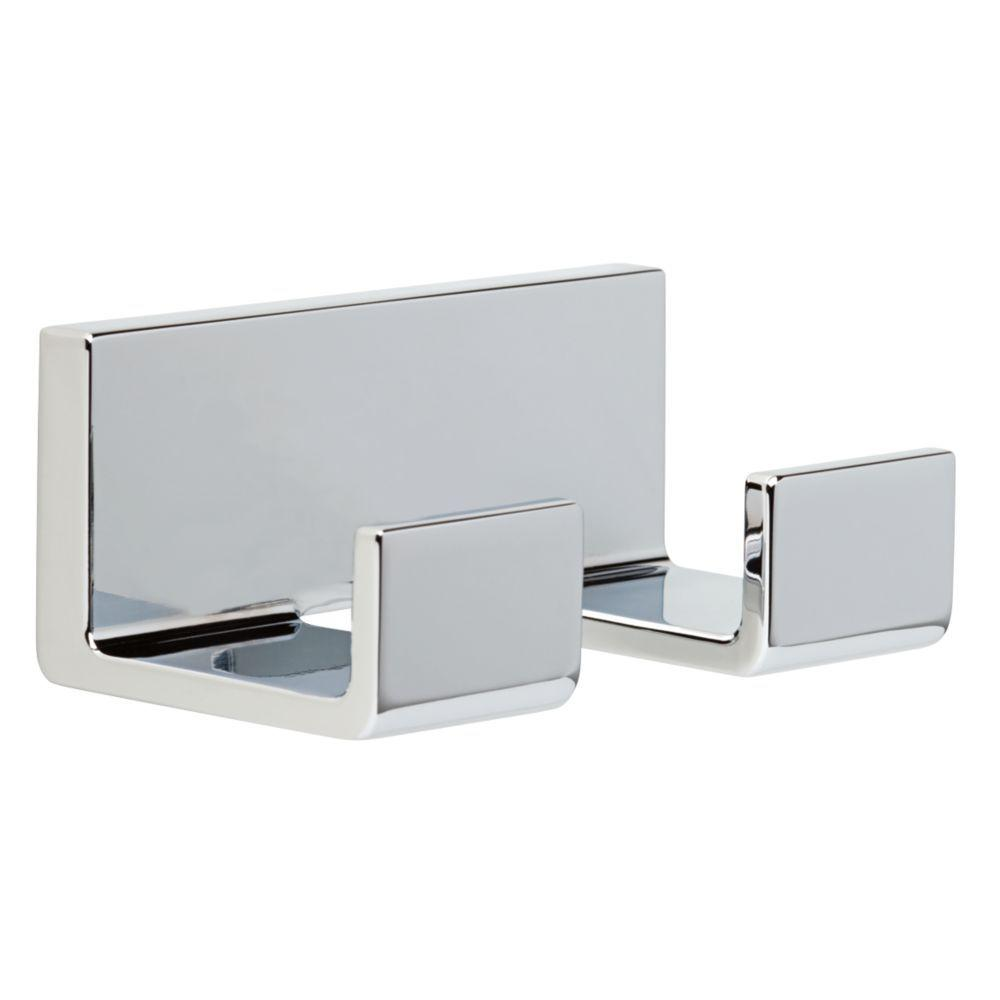 Beau Delta Vero Double Towel Hook In Chrome