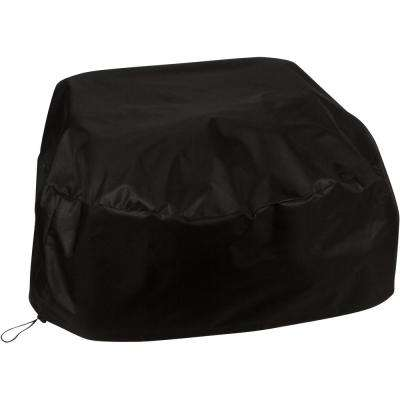 Round Fire Pit Cover with Drawstring