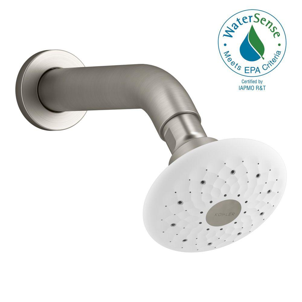 Exhale 3-Spray Multifunction Showerhead in Vibrant Brushed Nickel