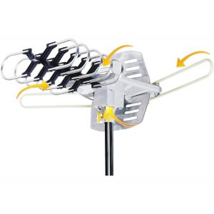 RCA Attic/Outdoor Compact Design HDTV Antenna-ANT705E - The