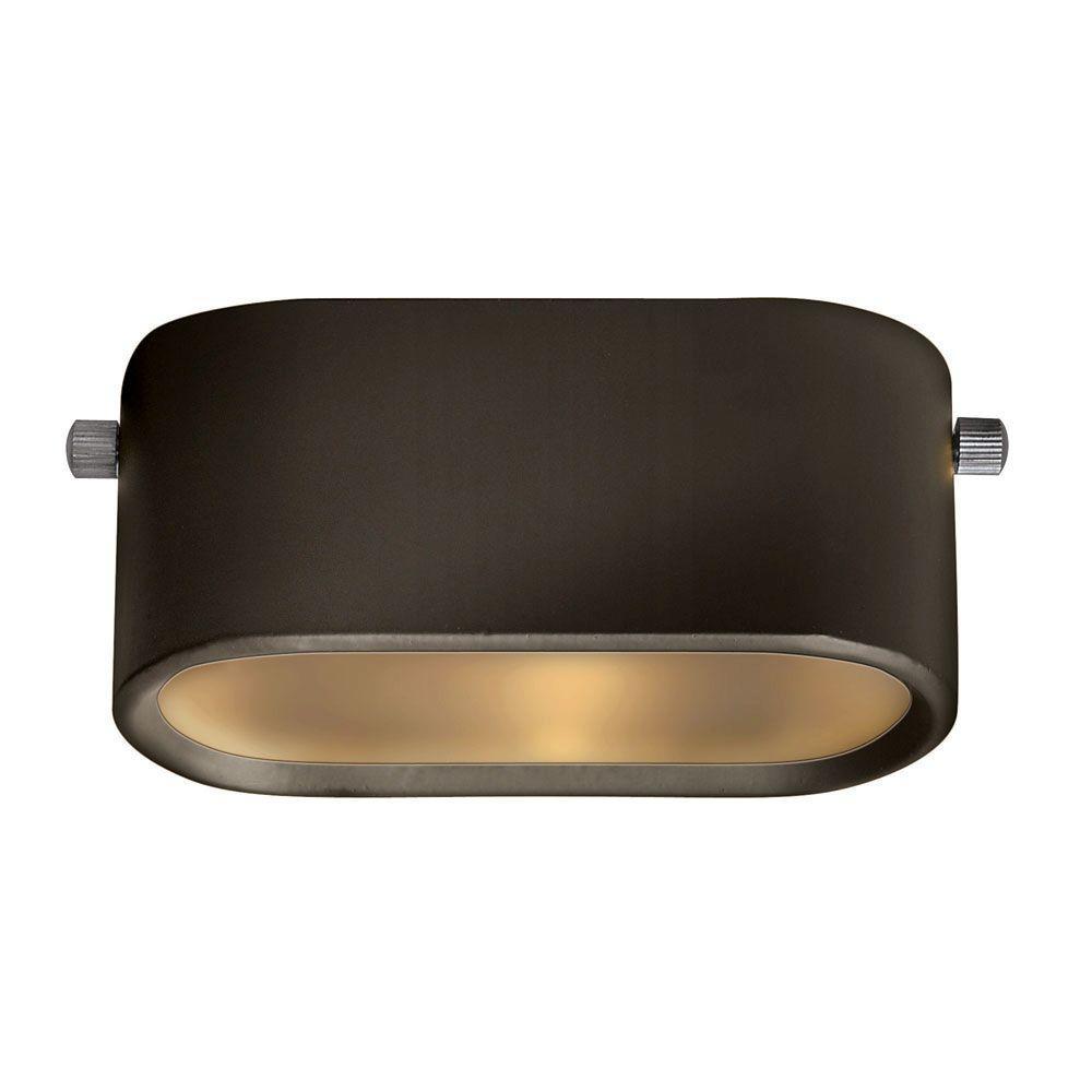 Hinkley Lighting Low Voltage Bronze 12-Watt Under Bench Light -DISCONTINUED