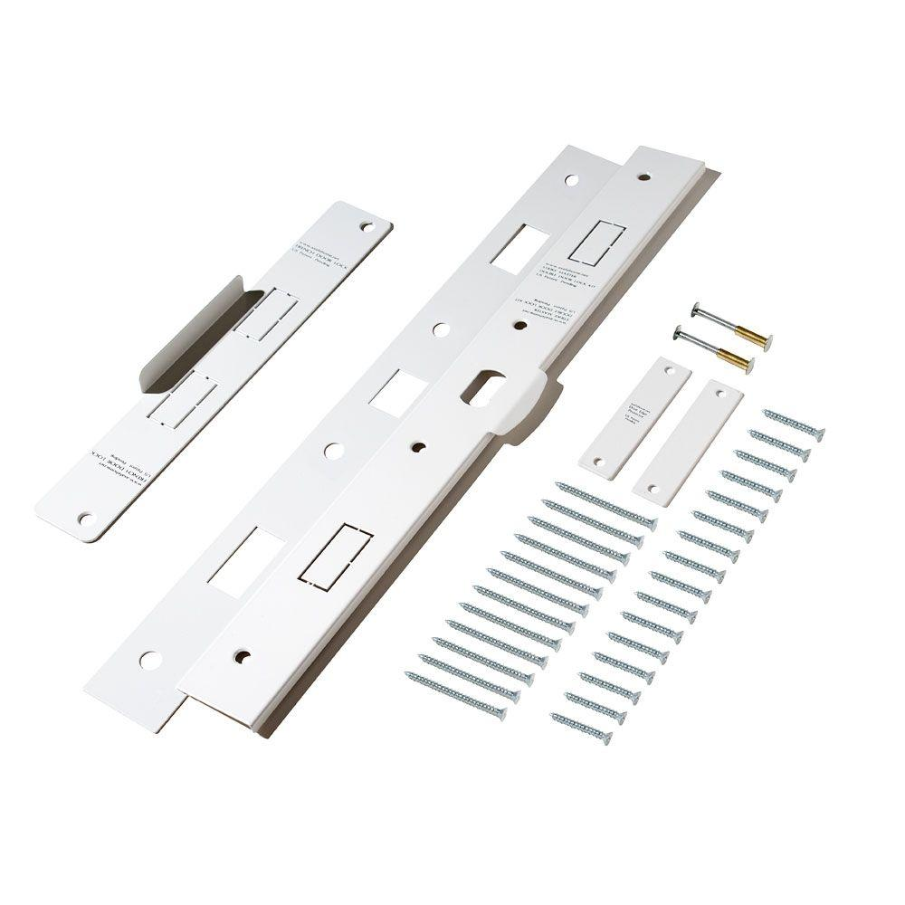 Door frame door frame kits home depot - Strikemaster Ii French Door And Double Door Reinforcement Kit