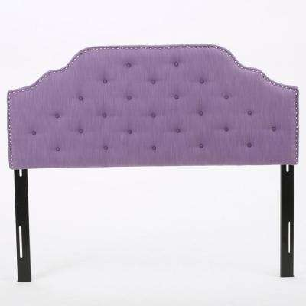 Purple Queen/Full Tufted Headboard