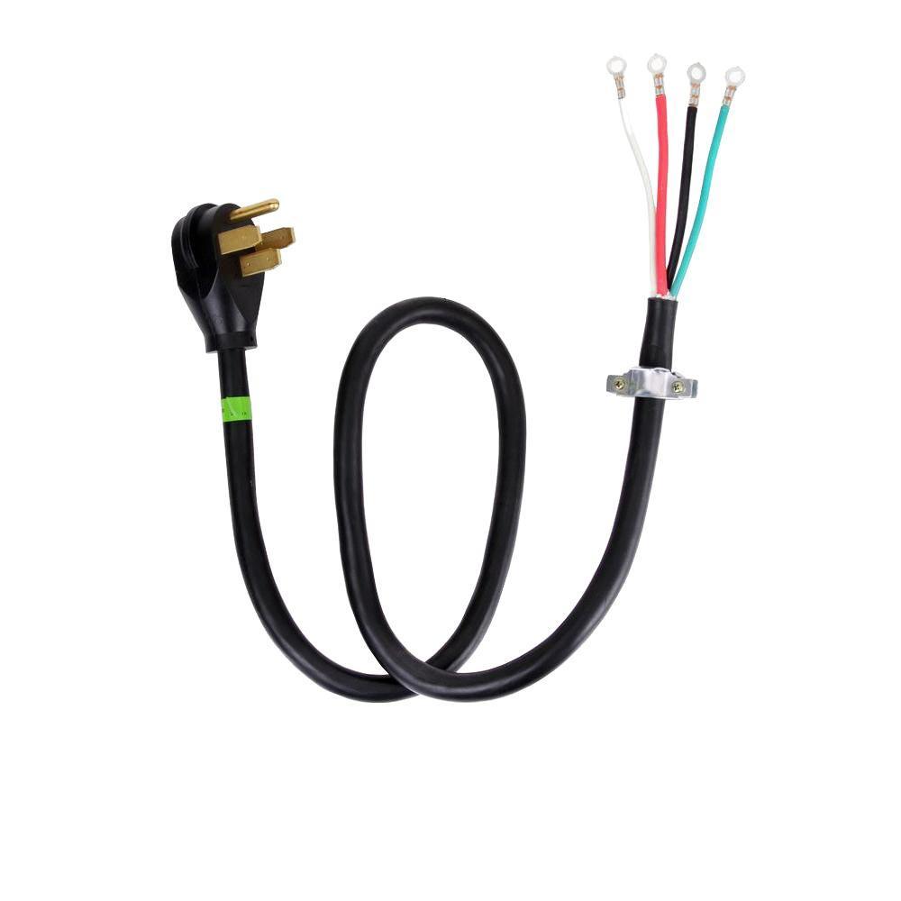 4 ft. 4-Wire 40 Amp Range Cord