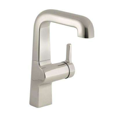 Evoke Single-Handle Kitchen Faucet in Polished Nickel