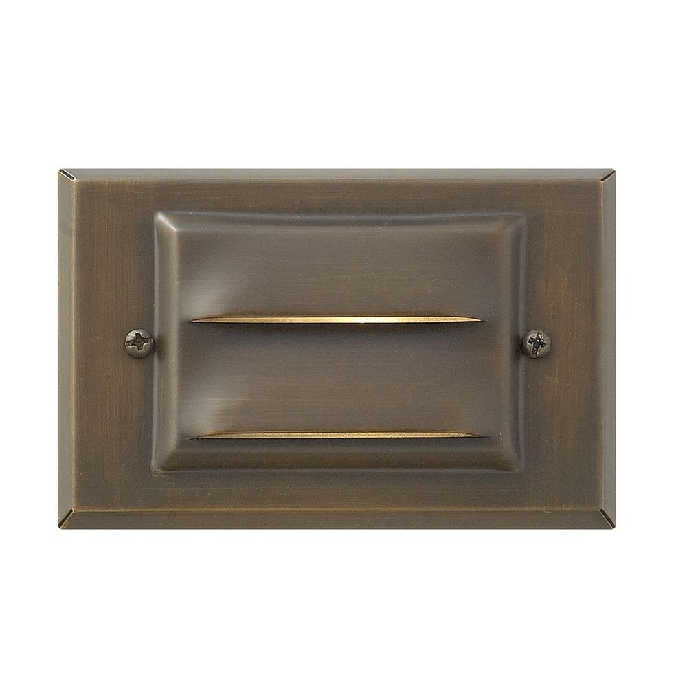 Matte Bronze Recessed LED Outdoor Deck Light