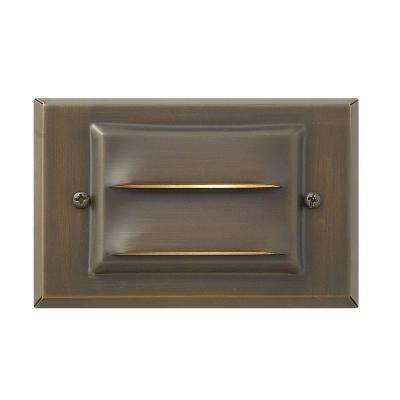 Matte Bronze Recessed LED Outdoor Deck Light