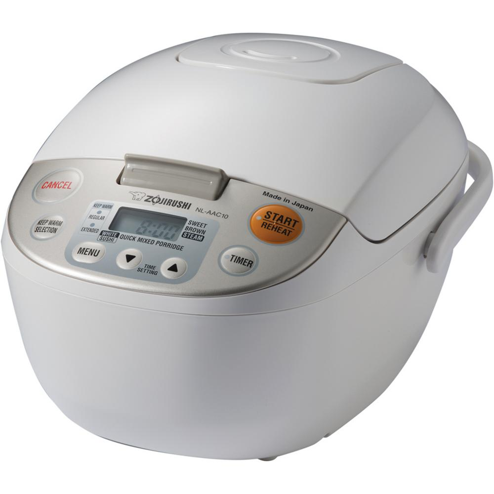 Zojirushi Micom Rice Cooker and Warmer White 5 Cup Japan,...