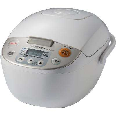 Micom Rice Cooker and Warmer White 5 Cup Japan