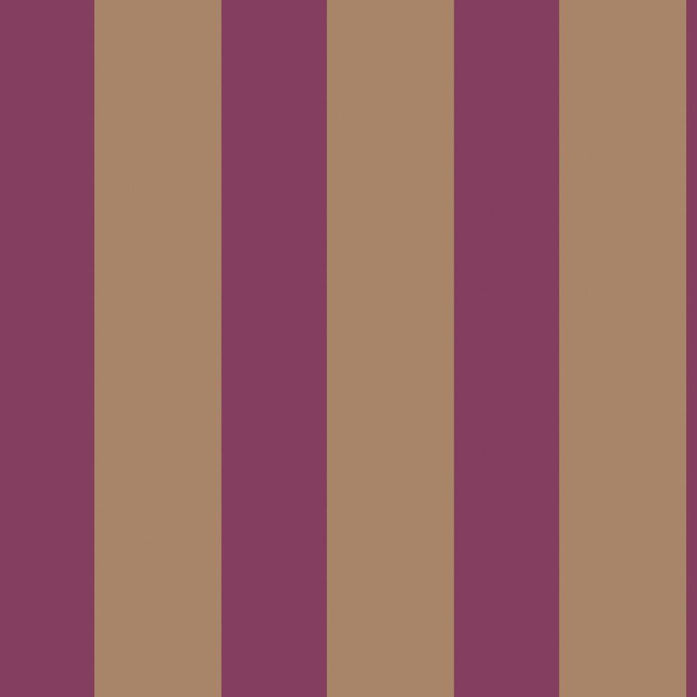 The Wallpaper Company 8 in. x 10 in. Stripe Red Wallpaper Sample