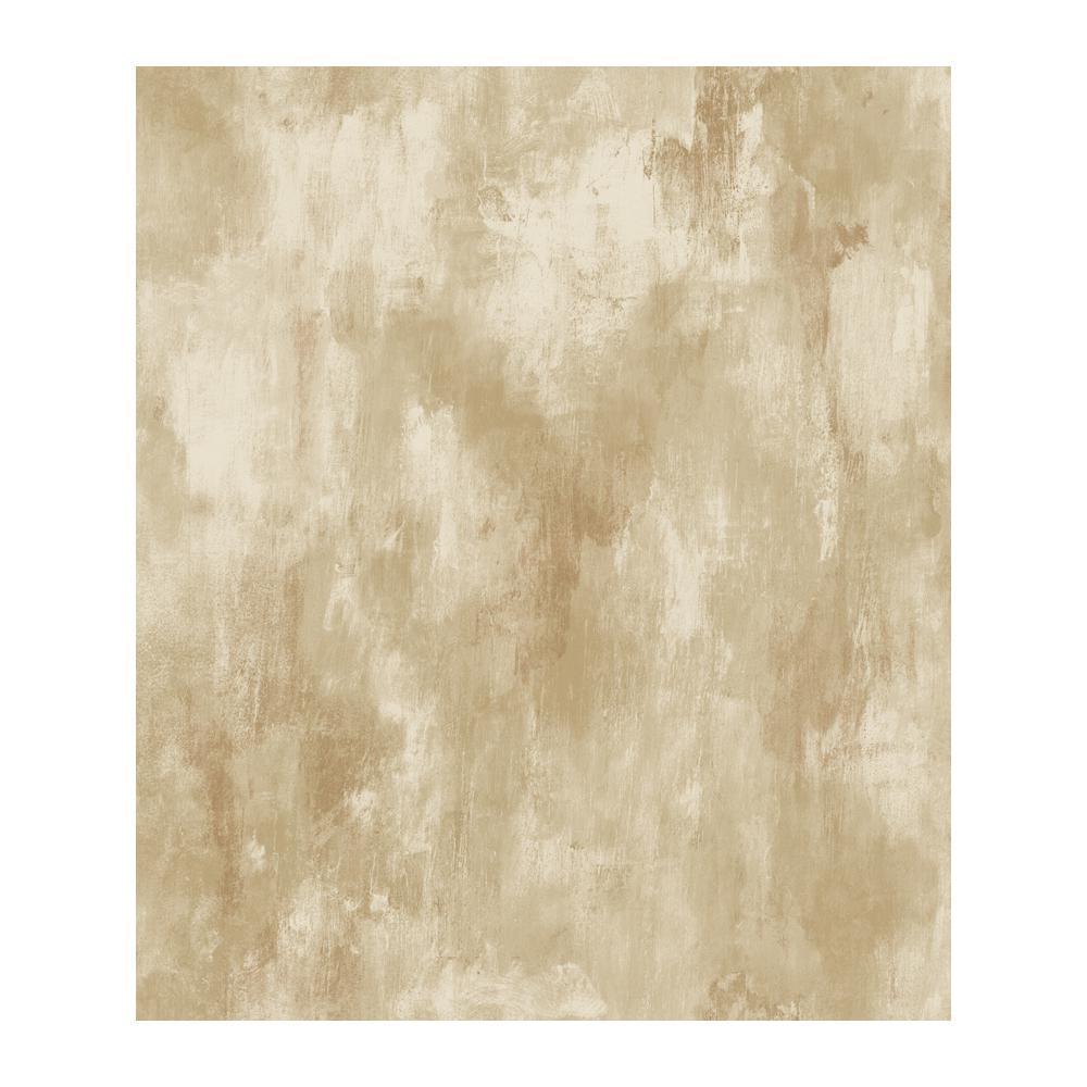 Chesapeake Gold Leaf Beige Tile Texture Wallpaper MEA79033